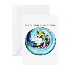 Black Beak Pirate Saga Greeting Cards (Pk of 10)