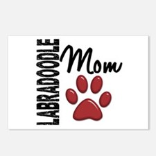 Labradoodle Mom 2 Postcards (Package of 8)
