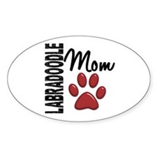 Labradoodle Mom 2 Decal
