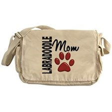 Labradoodle Mom 2 Messenger Bag
