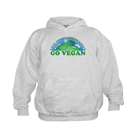 Live Compassionately Kids Hoodie