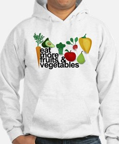 Eat Fruits & Vegetables Hoodie