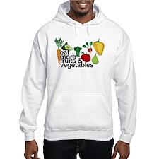 Eat Fruits & Vegetables Jumper Hoody