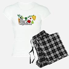 Eat Fruits & Vegetables Pajamas