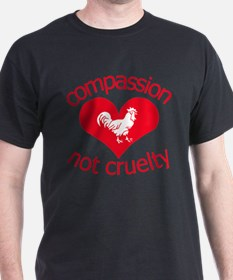 Compassion not cruelty T-Shirt