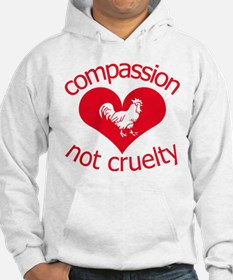 Compassion not cruelty Hoodie