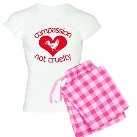 Compassion not cruelty Women's Light Pajamas