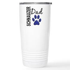 Schnauzer Dad 2 Travel Coffee Mug