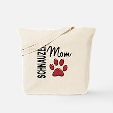 Schnauzer Mom 2 Tote Bag