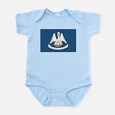 Louisiana State Flag Infant Bodysuit
