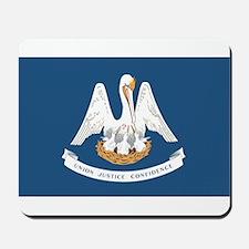Louisiana State Flag Mousepad