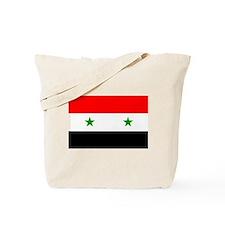 Flag of Syria Tote Bag