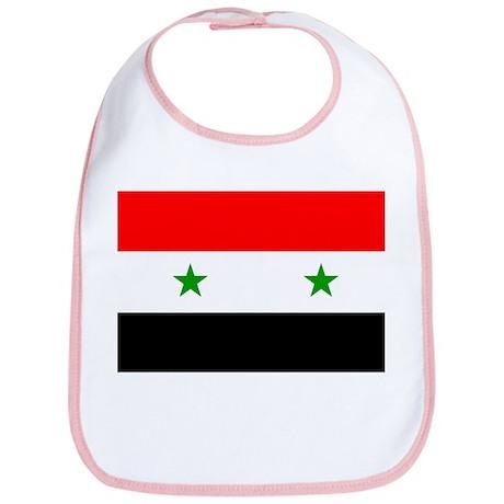 Flag of Syria Bib