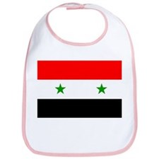 Flag of Syria Bib
