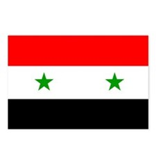 Flag of Syria Postcards (Package of 8)