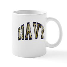 USN Navy Blue and Gold Mug