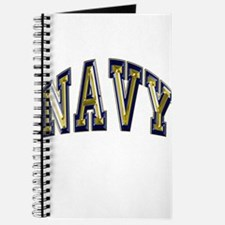 USN Navy Blue and Gold Journal