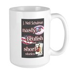 Nasty, Brutish & Short Large Mug