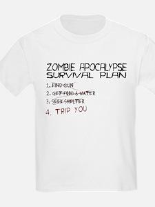 Zombie Apocalypse Survival T-Shirt