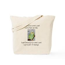 Noisy Bird Tote Bag