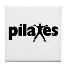 New! Pilates by Svelte.biz Tile Coaster