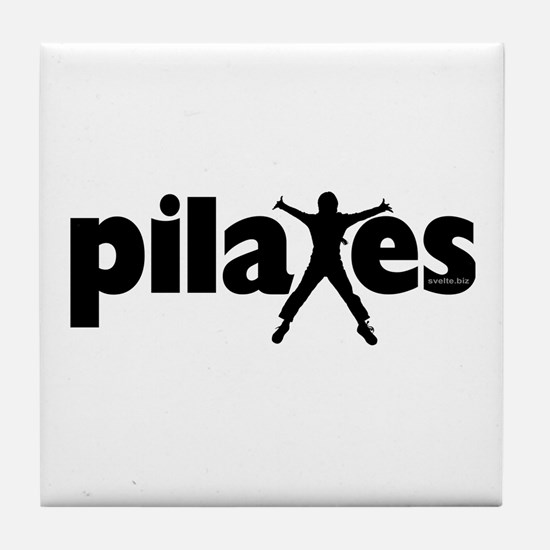 New! Pilates by Svelte.biz Tile Coaster