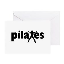 New! Pilates by Svelte.biz Greeting Card