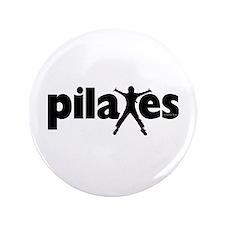"New! Pilates by Svelte.biz 3.5"" Button"