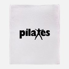 New! Pilates by Svelte.biz Throw Blanket