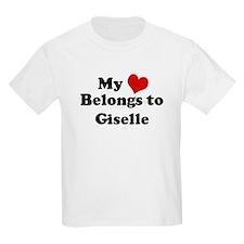 My Heart: Giselle Kids T-Shirt