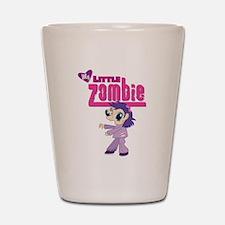 My Little Zombie Shot Glass
