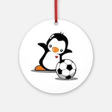 I Like Soccer Ornament (Round)