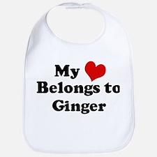 My Heart: Ginger Bib