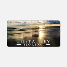 Siesta Key Aluminum License Plate