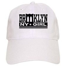 Brooklyn NY Girl Baseball Cap