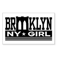 Brooklyn NY Girl Decal