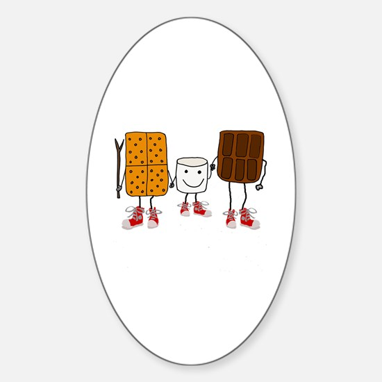 Funny Funny camping Sticker (Oval)