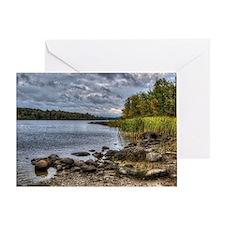 Fall Lake (BWCA) Greeting Card