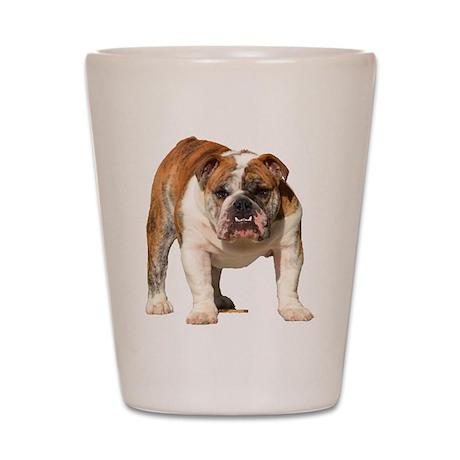 Bulldog Items Shot Glass