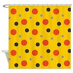 Brooklyn Sunshine Polka Shower Curtain