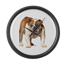 Bulldog Items Large Wall Clock