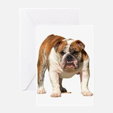 Bulldog Items Greeting Card