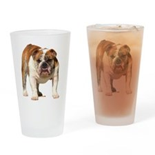 Bulldog Items Drinking Glass