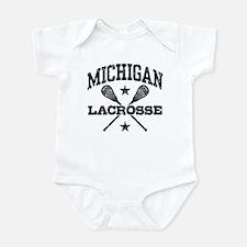 Michigan Lacrosse Infant Bodysuit