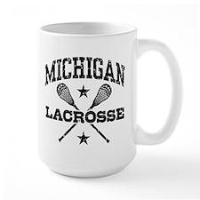Michigan Lacrosse Mug
