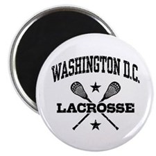 Washington DC Lacrosse Magnet