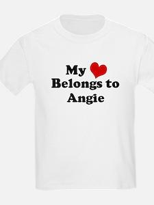 My Heart: Angie Kids T-Shirt