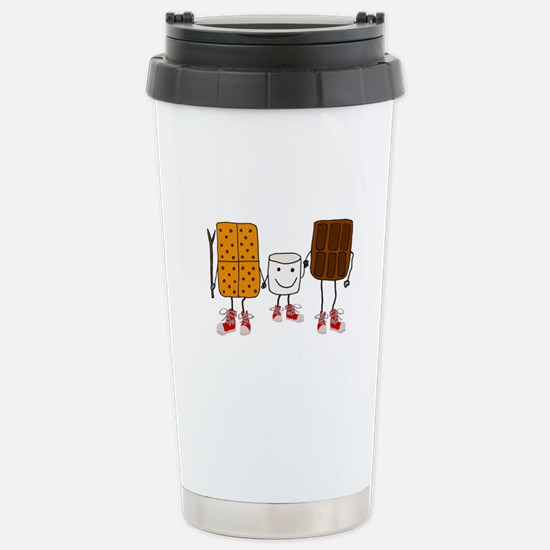 Funny Smores Camping Cartoon Mugs