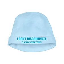 I don't discriminate baby hat