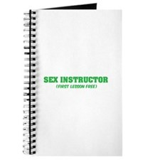 Sex instructor Journal